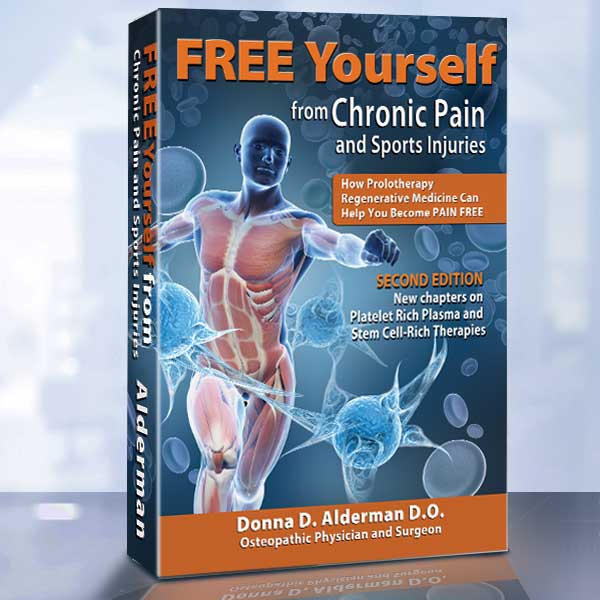 FREE Yourself from Chronic Pain and Sports Injuries book and nutritional supplements special sale offer - learn while you heal